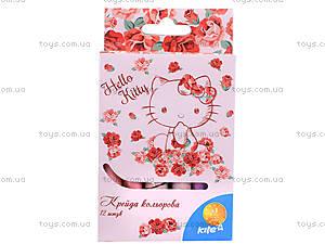 Мелки цветные Hello Kitty, 12 штук, , купить