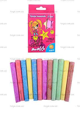 Мелки цветные Pop Pixie, 12 штук,