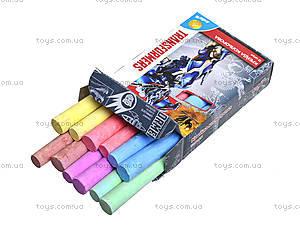 Мел цветной Transformers, 12 штук, TF15-075K, фото