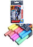 Мел цветной Transformers, 12 штук, TF15-075K, купить
