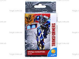 Мел цветной Transformers, 12 штук, TF15-075K, отзывы