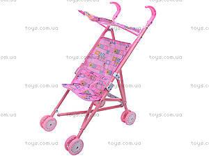 Металлическая коляска для куклы, с крышей, 886AH