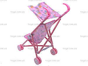 Металлическая коляска для куклы, с крышей, 886AH, фото
