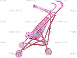 Металлическая коляска для куклы, с крышей, 886AH, отзывы