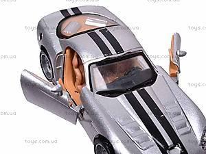 Металлическая машина «Агент 007», KT8048D, отзывы
