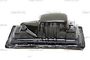 Металлическая машина ГАЗ 11-73, , фото