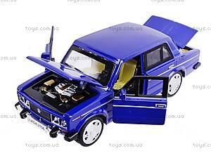 Металлическая машина «Жигули», 611A, toys