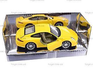 Металлическая машина «Porsche 911», TOP305, отзывы