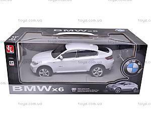 Металлическая машинка BMW X6, на управлении, 6618-854B, фото