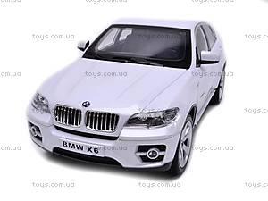 Металлическая машинка BMW X6, на управлении, 6618-854B