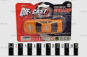 Металлическая машинка Gallop, FY522-525 P