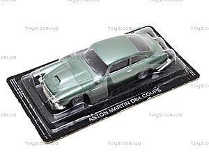 Металлическая модель Aston Martin DB4,