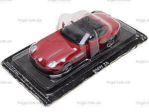 Металлическая модель BMW Z8,