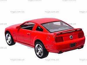 Металлическая модель Ford Mustang GT 2006, KT5091W, игрушки