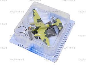 Металлическая модель самолета,