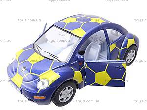Металлическая модель Volkswagen Soccer Beetle, KT5028WR, фото