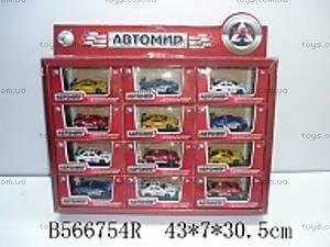 Металлическая спортивная машинка, 102301