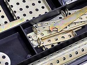 Металлический конструктор, маленький, №1, фото