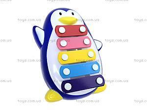 Металлический ксилофон «Пингвин», 20112A/.B, фото
