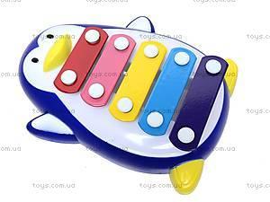 Металлический ксилофон «Пингвин», 20112A/.B, цена