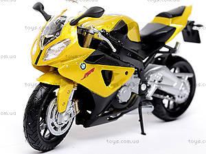 Металлический мотоцикл, масштаб 1:18, B19660PW/6, купить