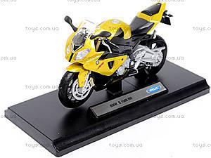 Металлический мотоцикл, масштаб 1:18, B19660PW/6