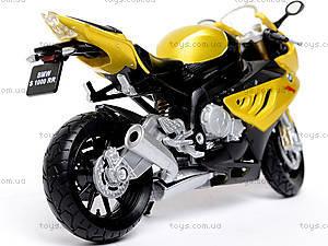 Металлический мотоцикл, масштаб 1:18, B19660PW/6, отзывы