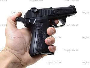 Металлический пистолет на пульках, 90-3., фото