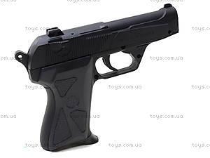 Металлический пистолет на пульках, 90-3., игрушки