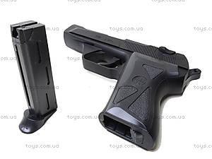 Металлический пистолет на пульках, 90-3., детские игрушки