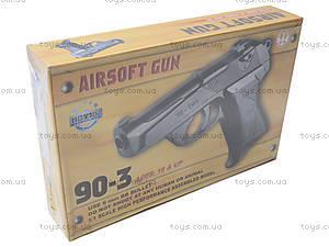 Металлический пистолет на пульках, 90-3.