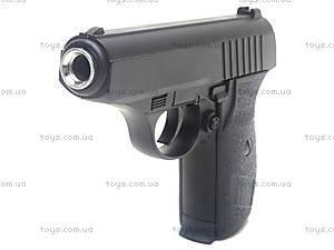 Металлический пистолет с пульками, P.15, фото