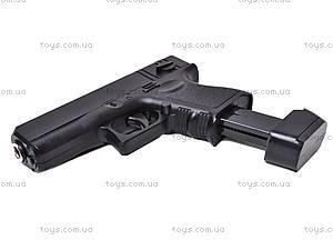 Металлический пистолет с пулями, G16, купить