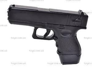 Металлический пистолет с пулями, G16, фото