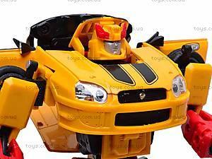 Металлический трансформер Bumblebee, 10720-20D, игрушки