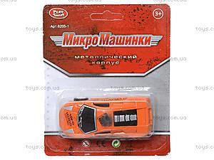 Металлическая машина «Микро», 6205-2A, toys