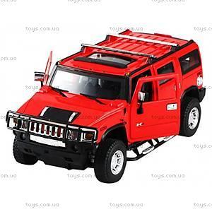 Металлическая машинка на радиоуправлении Meizhi Hummer H2, MZ-25020Ar, фото