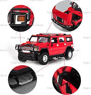 Металлическая машинка на радиоуправлении Meizhi Hummer H2, MZ-25020Ar, игрушки