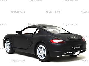 Металлическая машинка Porsche Cayman S Matte, KT5371W, купить