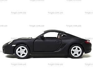 Металлическая машинка Porsche Cayman S Matte, KT5371W, фото