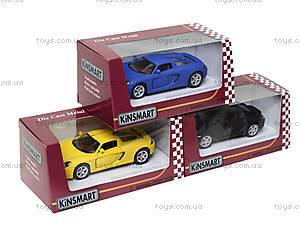 Металлическая машинка Porsche Cayman S Matte, KT5371W, детские игрушки
