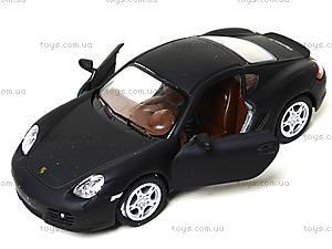 Металлическая машинка Porsche Cayman S Matte, KT5371W, магазин игрушек