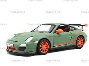 Металлическая машинка Porsche Cayman S Matte, KT5371W, детский