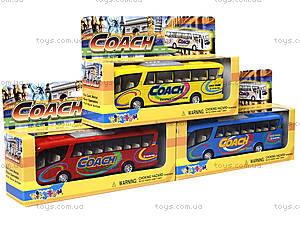 Металлическая модель автобуса «Туристический», KS7101W