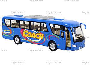 Металлическая модель автобуса «Туристический», KS7101W, цена
