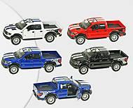 Металлическая модель джипа Ford F-150 SVT Raptor Supercrew, KT5365W, купить