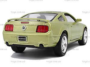 Металлическая модель Ford Mustang GT 2006, KT5091W, детские игрушки