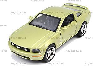 Металлическая модель Ford Mustang GT 2006, KT5091W, магазин игрушек