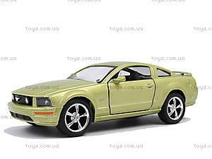 Металлическая модель Ford Mustang GT 2006, KT5091W, toys