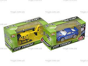 Металлическая модель «Городской транспорт», TH612, toys.com.ua